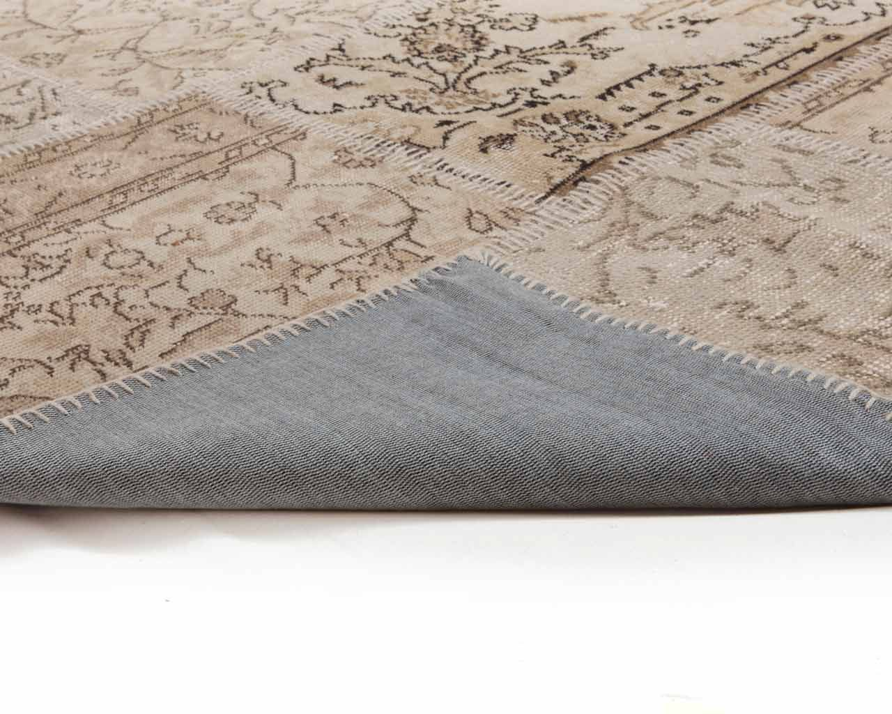 corner turkish patchwork rectangle carpet