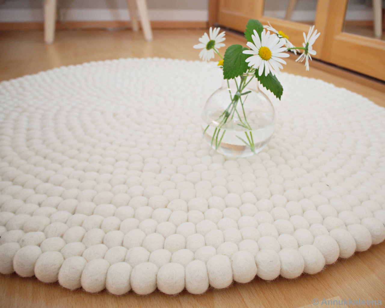 transparent glass vase with flowers nepal contemporary rugs