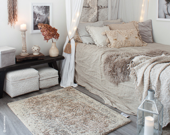 hand-tufted-modern-oriental-wool-rug-bedroom